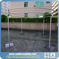 Wholesale Aluminum Portable quick Show pipe & drape Folding Booth mandap decoration from china suppliers