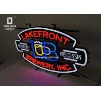 Wholesale Beer Lakefront Custom Neon Signs Brewery Personalized Advertising Neon Signs from china suppliers