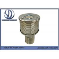 Wholesale 1T Filtration Ability Stainless Steel 304 Wedge Wire Screen Filter Nozzle With 0.18mm Gaps from china suppliers