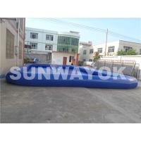Wholesale Airtight Inflatable Portable Swimming Pools Dark Blue  With Pump Fire-retardant from china suppliers