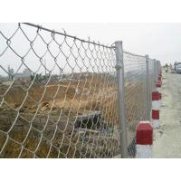 Quality Commercial 9 Gauge - 12 Gauge Chain Link Wire Mesh System For Road Fence for sale