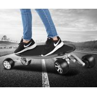 Wholesale Black Electric 4 Wheel Skateboard Megnalium Alloy Two Brushless Motor 1000W from china suppliers