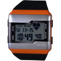 Wholesale Gents Digital Heart Rate Monitor Watches with Calorie and Pulse Counter Pedometer from china suppliers