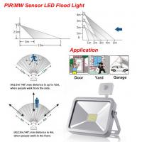Wholesale Super Bright Pir Motion Sensor Security External Led Flood Lights With Longer Lifespan from china suppliers