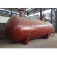 Quality ISO BV SGS 50000L undergrond horizontal type cylinder LPG gas storage tank , LPG tank trailer for sale