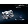 Buy cheap Forever Brilliance Grade White Radiant Cut Moissanite For Rings / Earrings from wholesalers