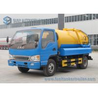 Wholesale JAC RHD LHD 6000L  Sewage Vacuum Truck With Pump 6000 L Water Tank Volume from china suppliers