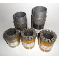 Quality Diamond Impregnated Drill Bits for Conventional Mineral Core Drilling for sale