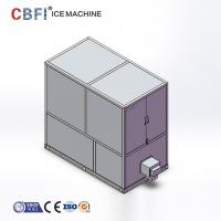 Wholesale 1 Ton Industrial Automatic Edible Large Ice Cube Maker With CE Certificate from china suppliers