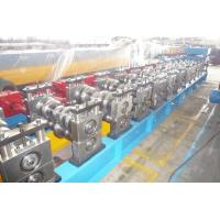 Quality 2 - 4mm Guardrail Roll Forming Machine with 15 Forming Stations for sale