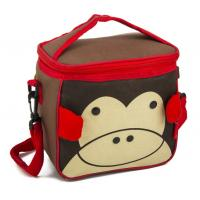Wholesale Food Small Carry Recycled Kids Cooler Bag Lightweight Cute Animal Design from china suppliers