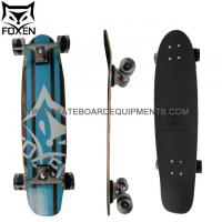 Wholesale 7ply Canadian Maple Bottom Walnut Shortboard,32*8 inch canadian maple surfboard from china suppliers