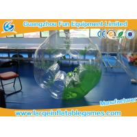 Wholesale Green Half Color Adults Inflatable Bubble Ball Heat sealed For Soccer Bubble Club from china suppliers
