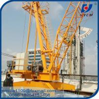 Wholesale QD100 Construction Derrick Crane 10 Tons Capacity With Inverter / VFD Control from china suppliers