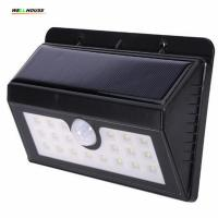 Wholesale Wall Lamp 20 LED Triangular Model Solar Power Waterproof PIR Motion Sensor human induction wall-mounted Outdoor Wall from china suppliers