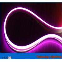 Wholesale decorative bi-side led neon flex lights purple color 24v for building from china suppliers