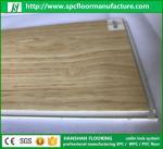 Hanshan ECO waterproof 5.5mm click Vinyl plastic indoor WPC flooring with CE