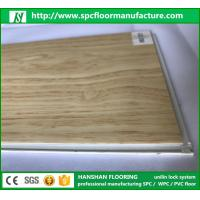 Quality Hanshan ECO waterproof 5.5mm click Vinyl plastic indoor WPC flooring with CE for sale