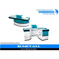 Wholesale Electronic Conveyor Belt Convenience Store Checkout Counter Cash Register Counter from china suppliers