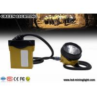 Wholesale 3.7V li-ion battery 25000lux rechargeable miners cap lights with cable indicator LED from china suppliers