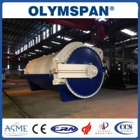 Wholesale Rubber industry Laminated Glass Autoclave Aerated Concrete / Autoclave Machine Φ2m from china suppliers