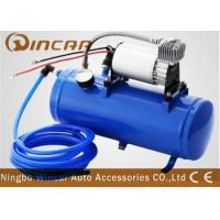 Wholesale DC 12v Portable Car Tire Pump 6L Tank Metal Material 1*30mm Cylinder from china suppliers