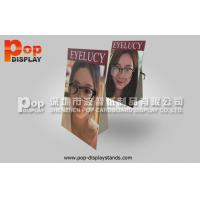 Wholesale Custom Countertop Advertising Standee A 4 Size  For Eyeglasses from china suppliers