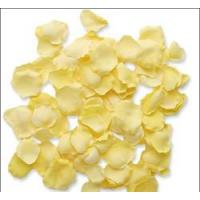 Buy cheap Yellow Silk Rose Petals Wedding Decoration Favor from wholesalers