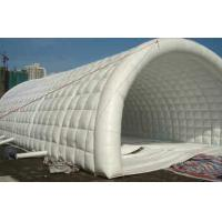 Wholesale Big White 0.45mm PVC Tarpaulin Inflatable Party Tent Tunnel Shape from china suppliers