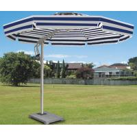 Wholesale Side Pole Striped Double Patio Umbrella Colorful Beach Parasol For Shopping Street / Villa from china suppliers