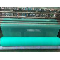Scaffolding Mesh Construction Safety Nets , HDPE Debris Safety Netting Green Colours