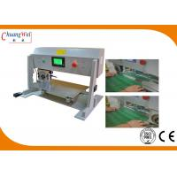 Buy cheap High efficiency LCD program Control pcb depaneler with running type from wholesalers