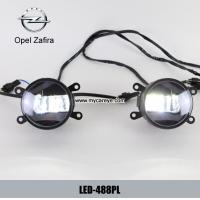 Wholesale Opel Zafira car front fog light LED daytime driving lights DRL suppliers from china suppliers