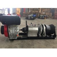Wholesale Tower Erection Tools 5 Ton Speedy Diesel Engine Wire Rope Winch For Cable Pulling from china suppliers