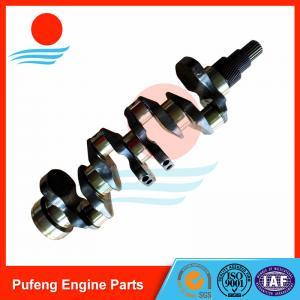 China crankshaft for Kubota, V3300 crankshaft one year warranty with ISO/TS 16949:2009 certificate on sale