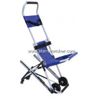 Wholesale Disabled Carrying Emergency Stair Chair Safety Four Wheel Blue from china suppliers