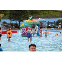 Quality Different Style Spray Park Equipment , Fiberglass Splash Park Equipment for sale