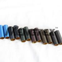 Wholesale Colorful Carbon Fiber Tube surface matt or glossy finish from china suppliers