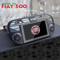 Wholesale Digital Black Fiat DVD Player 800*480 Resolution For Fiat 500 FT-6500GD from china suppliers
