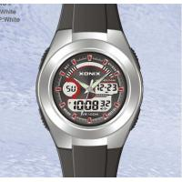 Wholesale Round Sporty Plastic Quartz Analog Digital Watches For Men from china suppliers