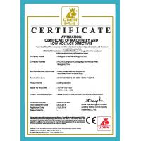 SHANGHAI XINAO TECHNOLOGY CO.,LTD Certifications