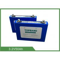 Wholesale 3.2V 50Ah Rechargeable LiFePO4 Battery 2 Years Warranty and Low Self - Discharge from china suppliers