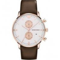 Wholesale Wholesale NEW EMPORIO ARMANI AR0398 MENS ROSE GOLD CHRONOGRAPH WATCH from china suppliers