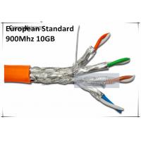 Quality 10GB 900MHz CAT7 SSTP Solid Cables Cat 7 Copper wires AWG23 - LSOH/LSZH Ethernet Cable for sale