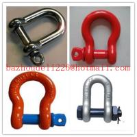 Wholesale Safety Anchor Shackle&Bow shackle,Stainless steel shackle from china suppliers