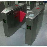 Wholesale High Speed Low Voice Fast flap barrier turnstile Gate 304 stainless steel from china suppliers