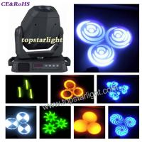 Wholesale 14CH IP20 60W / 75W LED Moving Head Light DMX512 With LCD Display from china suppliers