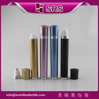 Wholesale DR003-10ml luxury refillable vibrating plastic roll on bottle manufacturer from china suppliers
