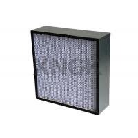 Quality High Efficiency Particulate Air Hepa Filter Low Resistant Customized Size for sale