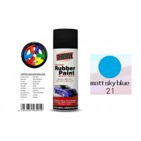 Wholesale OEM Available Removable Rubber Spray Paint Matt Sky Blue Color For Wheel from china suppliers